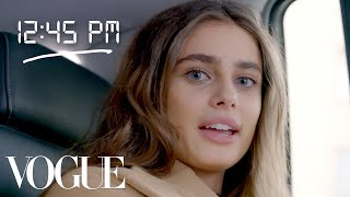 How Taylor Hill Gets Runway Ready | Diary of a Model | Vogue