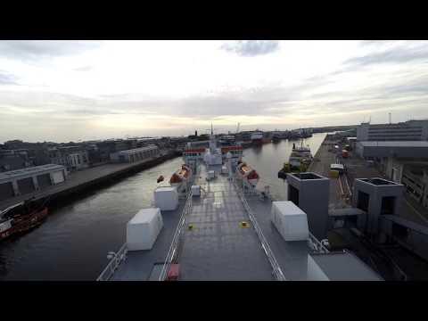 MV Hjaltland Lerwick to Aberdeen Time Lapse  4.7.17