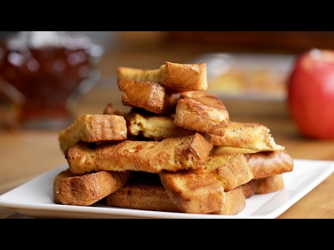 Freezer-Prep French Toast Sticks