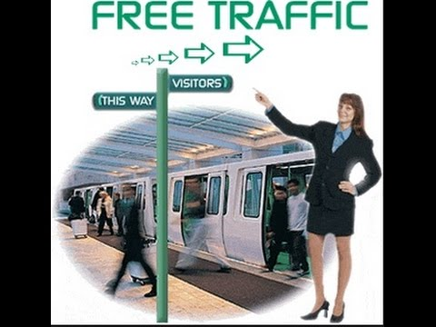How to get FREE TRAFFIC to your website by sharing Content