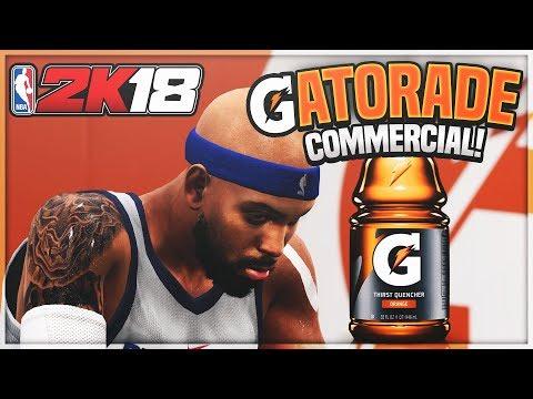 NBA 2K18 MyCAREER - GATORADE COMMERCIAL! Paul George 1v1 For Endorsement Ep. 19 (PS4 Pro Gameplay)