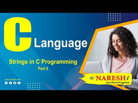Strings -  Part 1 | C Language Tutorial