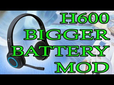 Motorola H800 Logitech Wireless Headset H800 Battery Life
