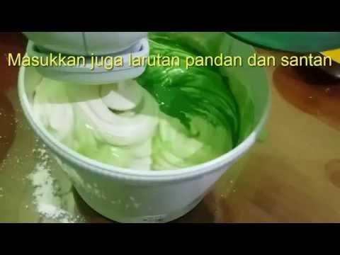 Resep membuat kue bolu pandan asli