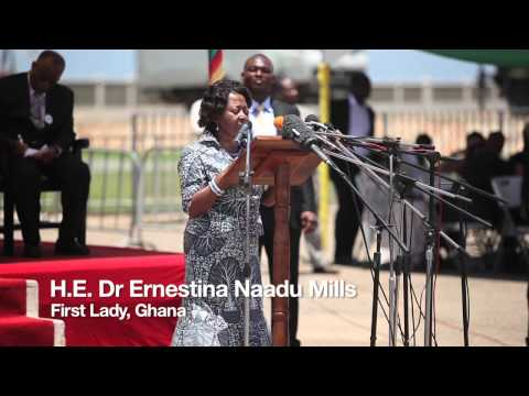 Highlights from Ghana's vaccines launch on 26 April 2012