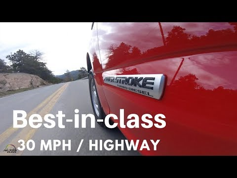 2018 Ford F-150 Power Stroke Diesel 1st. look on and off-road around Denver