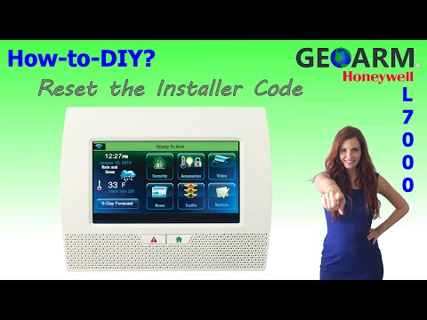 Honeywell L7000 : How to Reset the Installer Code?