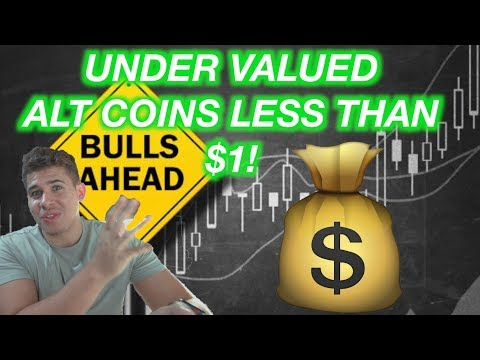 TOP ALT COINS UNDER $1 THAT COULD EARN YOU $100K IN 2018!