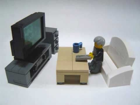 How to make Lego furniture.