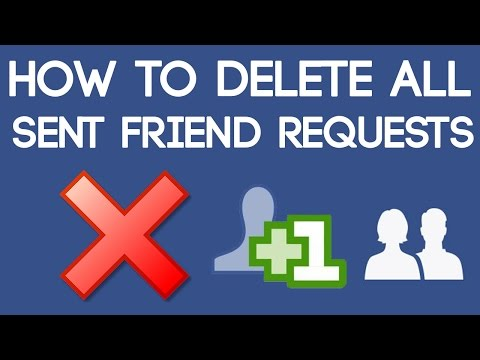 How to Delete All Sent Friend Requests on Facebook at Once 2018 [100% Working Trick]