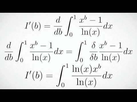 Differentiation under the Integral Sign Tutorial