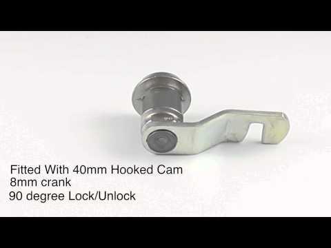 Fast Keys 360 Product Spotlight - Ronis 14200 - 20mm Hooked Cam Lock.