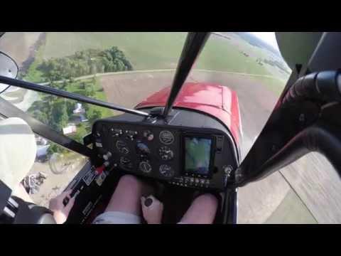 Flying A Supercub, Cockpit POV