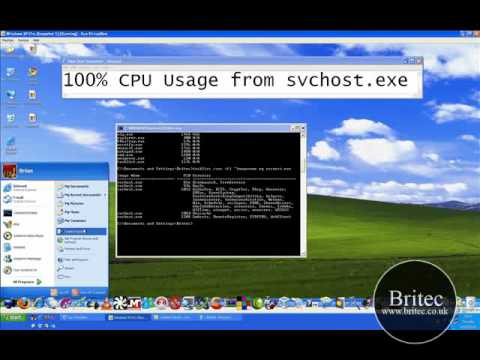 PC Repair: 100% CPU Usage for svchost exe by Britec