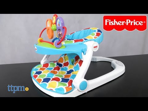 Sit-Me-Up Floor Seat with toy tray from Fisher-Price