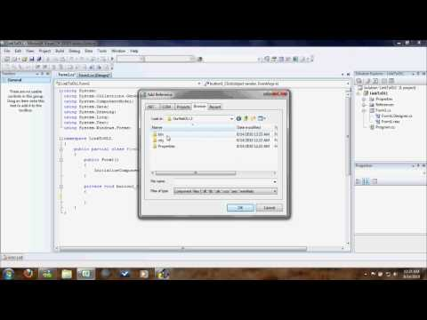 C# Quick Tip: Creating and Using a DLL [HD]
