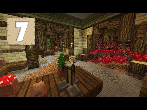LET'S BUILD AN ALCHEMY ROOM!! - Survival Let's Play Ep. 7 - Minecraft 1.2