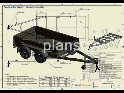 Trailer Plans - PLAN BUILD SAVE