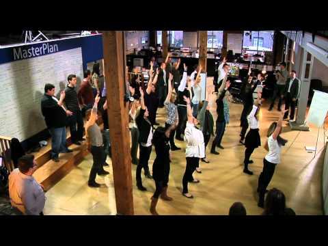 Flash Mob - I Love Rewards Office
