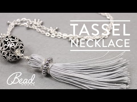 Learn How-To Make A Tassel Necklace with Natalia - Bead House