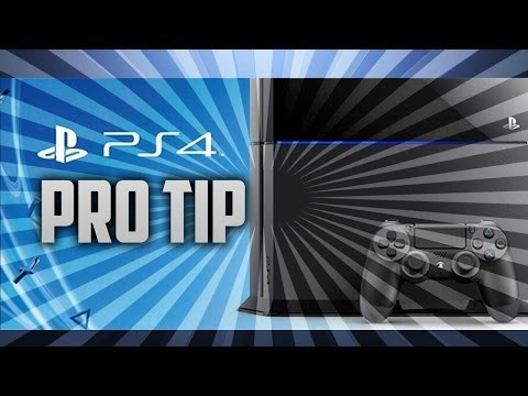 PS4 Hard Drive Memory Storage Pro Tip