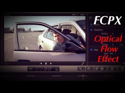 Final Cut Pro X Optical Flow MUSIC VIDEO EFFECT!