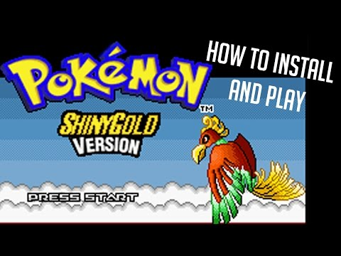 How to: Install and Play Pokemon Shiny Gold