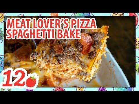 How to Make: Meat Lovers Spaghetti Bake