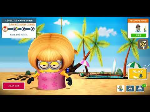 Minion Rush / Level 315 - A good beach run