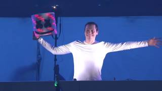 Marshmello finally reveals himself at EDC Las Vegas 2016