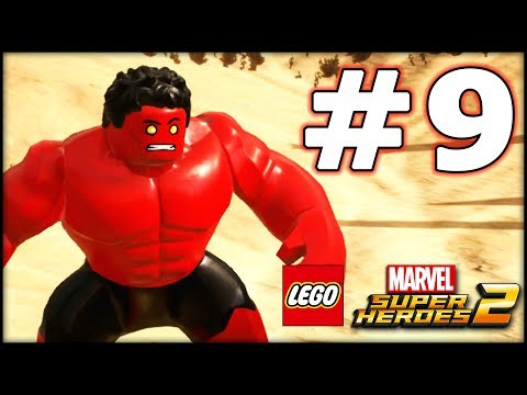 LEGO Marvel Superheroes 2 - LBA Episode 9 - RED Hulk!