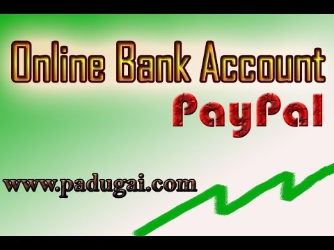 Receive your Online Job Payment with Free Online Bank Account   PayPal Payment Gateway