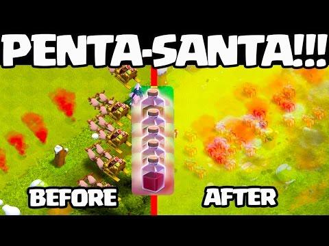 Clash of Clans Update - SANTA SPELL!