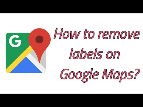 How to Remove Google Map Labels on Android