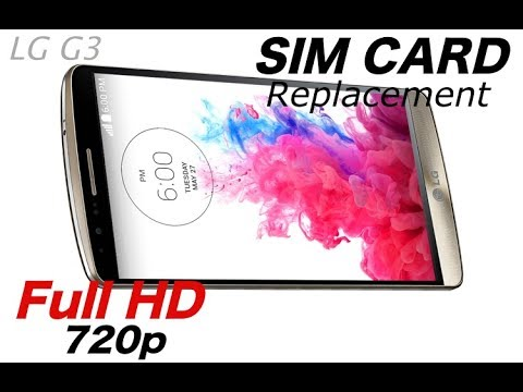 Sim card reader replacement LG G3 (D855)