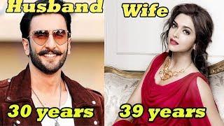 20 Shocking AGE Difference of Bollywood Couples | Indian Couple AGE GAP|Priyanka Chopra,Deepika