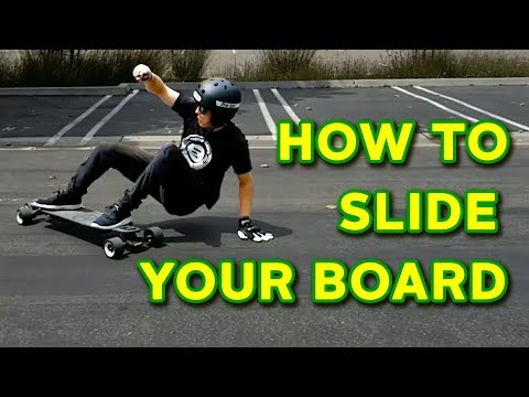 How To Slide Your Board - Evolve Skateboards Weekly Ep. 37