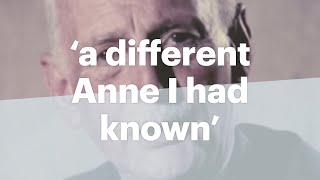 Otto Frank talks about Annes diary