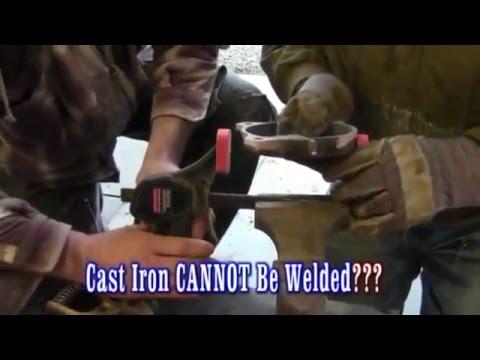 ¿El hierro fundido se puede soldar? ¡¡SÍ!!
