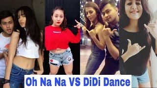 Oh Na Na Dance Vs Didi Dance Musically  Jannat Mrunal Aashika Avneet Awez Darbar