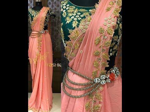 Saree Pleats/How to stitch Saree Pleats in 5 min/Readymade Saree