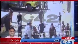 42 Breaking:City42 obtain CCTV footage of Ravi Road clash