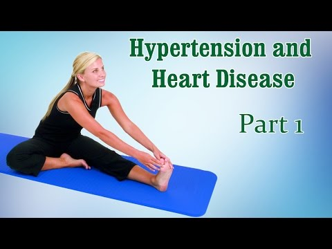 Yoga For Hypertension and Heart Disease | Cure Blood Pressure | Therapy, Exercise, Workout | Part 1