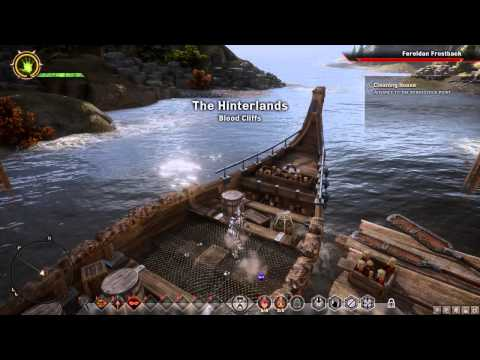 Dragon Age: Inquisition - Obsidian/Veridium/August Ram Leather Tier 2 Crafting Mat farm Hinterlands