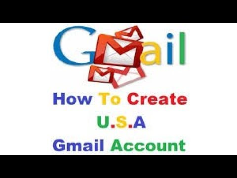 how to create usa/U.K verified gmail account without mobile number 2018