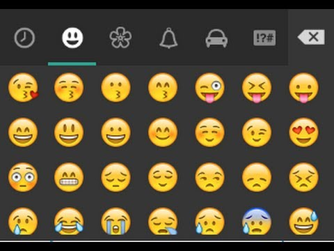 How to use Whatsapp Emoticons in Any other Chat on Android