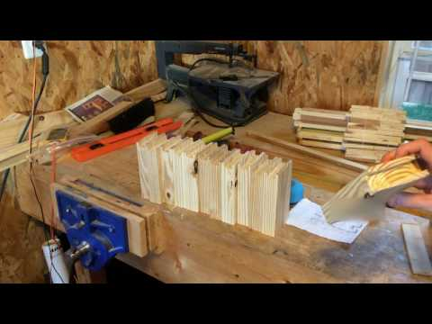 Beekeeping - Making Medium Frames (Langstroth)