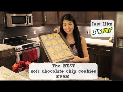 Make Chocolate Chip Cookies like Subway!