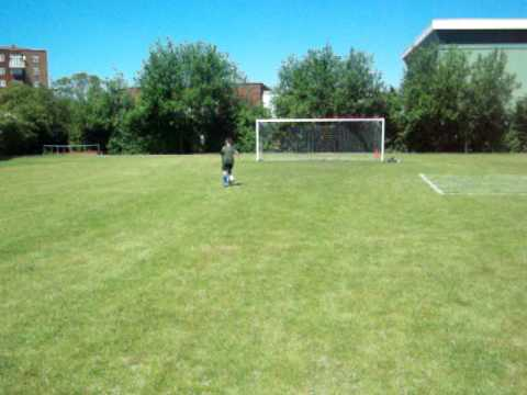 Facebook Page: Jamie Perrin - CLOSE CONTROL DRIBBLING FINISHING WITH A SHOT