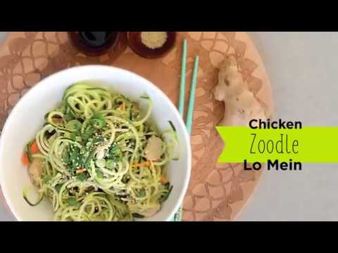 Recipe: Chicken Zoodle Lo Mein